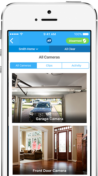 ADT iPhone Surveillance